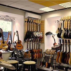 Музыкальные магазины Шалинского